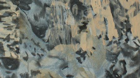 Bark Skin Painting Detail
